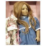 """Annette Hinstedt Puppen Kinder """"Toni""""  Doll - 22"""""""