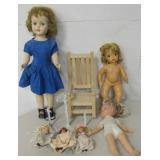 Vintage Dolls - Terri Lee, Fisher Price, etc...