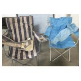 Lot of 2 Camping Chairs in Carry Bags