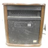 Red Stone Portable Heater On Wheels - Works