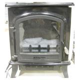Wood Stove Shaped Decor Flame Electric Heater