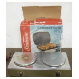 Sunbeam Grill & Electric Hot Plate - Works