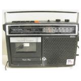 Realistic Radio Cassette Recorder - Powers Up