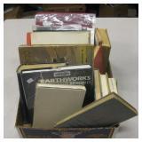 Box Of Vintage Books, Photos, etc...