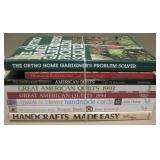 Quilting, Crafting & Garden Books