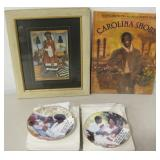 2 Avon Mothers Day Plates, Book & Print