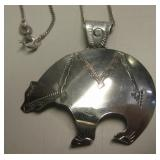 NA Sterling Silver Necklace - Ben J. Chavez