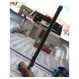 Vintage Sledge Hammer w/ Cracked Wood Handle