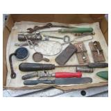 Lot Of Vintage & Antique Tools