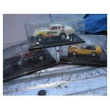3 Hot Wheels Collectibles 1:43 Scale Die Cast Cars
