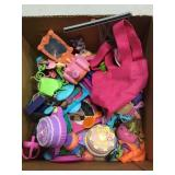 Box Of Assorted Girls Doll House Toys