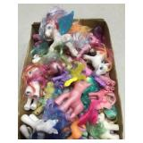 Box Of My Little Pony Toys