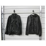 2 Faux Leather Jackets - XXL & XXXL