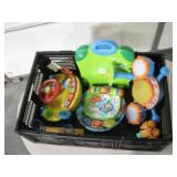 Small Crate Of Toys - Leap Start & More