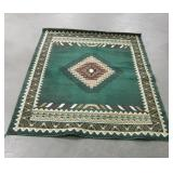 "60"" x 85"" Rug - With Wear & Cigarette Burns"
