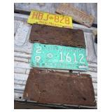 5 Vtg New Mexico License Plates - w/ 1928 & 1934