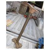 """Eclipse Patented 1894 23"""" Cast Iron Cobbler Form"""
