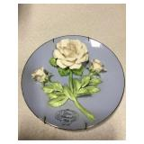 Diana Princess Of Wales Commemorative Plate 8""