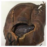 Vintage Hutch Leather Baseball Catchers Mitt
