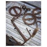 Vintage Cast Iron / Steel Lot
