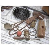 Vintage & Antique Tool Lot - Some Cast Iron