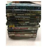 Lot of 13 Used Dvds Horror Titles and others