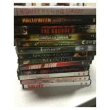 Lot of 13 Used Action and Horror Dvd Lot