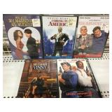 Lot of 5 sealed Dvds new old Stock Comedies