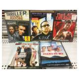 Lot of 5 sealed Dvds new old Stock Stand by me etc