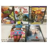 Lot of 5 sealed Dvds new old Stock The Jerk Etc..