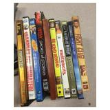 Lot  Of 10 used  Dvds  fight club etc..