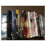Lot  Of 10 used  Dvds