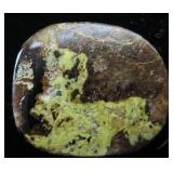 35 Cts Gaspeite Stone Cabechon