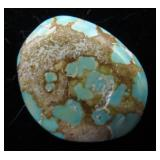 #8 Mine Turquoise Cabochon 11.5Cts