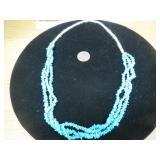 3 Strand Squaw Wrap Sleep Beauty Turquoise