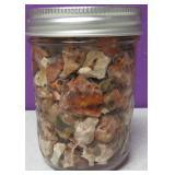 Mason Pint Jar Of Raw Mexican Opal #9