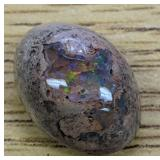 19.1Ct Green Blue Polished Mexican Opal Cabochon
