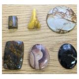 1.3Oz Of Polished Stone Cabochons