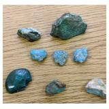 194Cts Of Turquoise Stones Etc