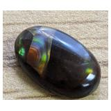 3.8Ct Polished Fire Agate Cabochon