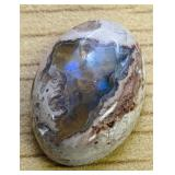 9Ct Green Blue Polished Mexican Opal Cab