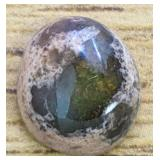 3.9Ct Mexican Green/BlueOpal Cabochon