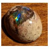 6.2CT Green/Blue Polished Mexican Opal Cabochon