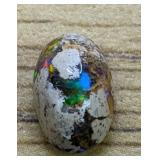 2Ct Polished Mexican Opal Cabochon