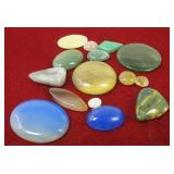 Assorted Polished Stones For Jewelry Making