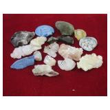Assorted Crystal Specimens Etc