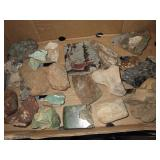 Collection Of Rock Specimens