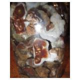 Best Jar Of Rough Mexican Fire Agate Quart Jar 13