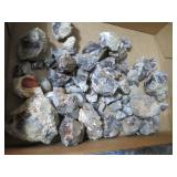 Approx 8 lbs of Raw Mexican Fire Agate Stone