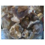2.2lbs Of Raw Mexican FIre Agate Lots Of Color